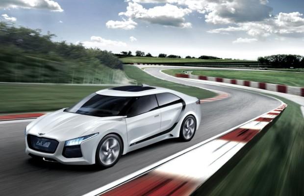 Seoul Motor Show: Hyundai HND-6 Blue2 - Mit der Brennstoffzellen-Limousine an die Öko-Spitze