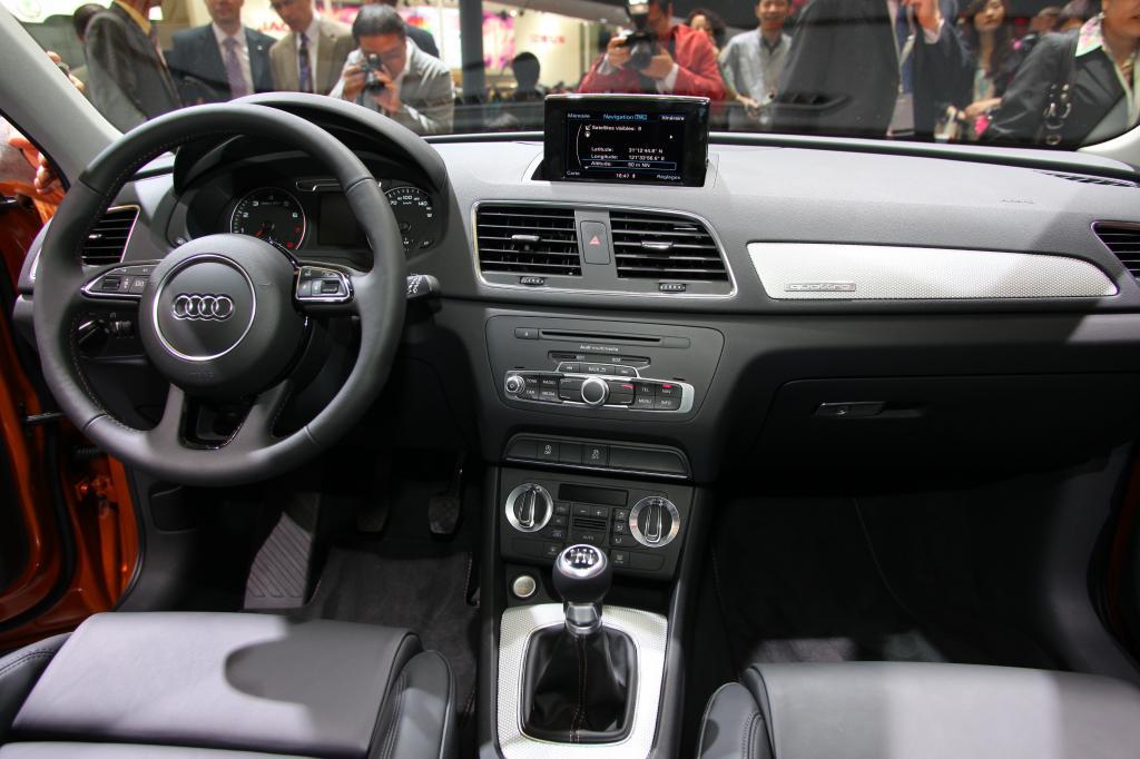 Shanghai 2011: Audi Q3 gibt sein Debüt