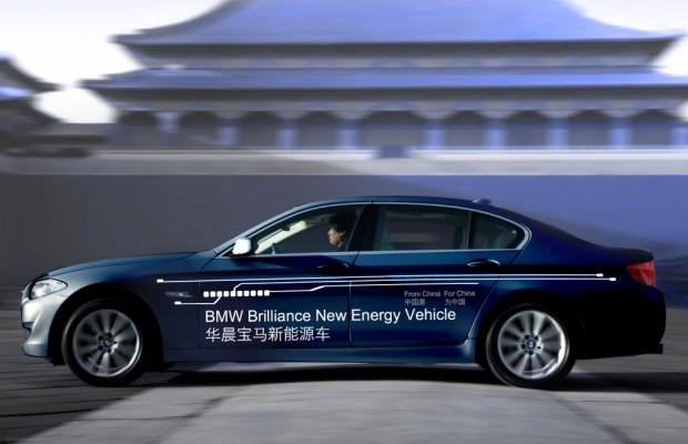 Shanghai 2011: BMW und Brilliance präsentieren Plug-in-Prototyp