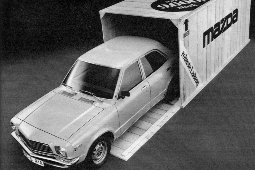 So warb Mazda 1976