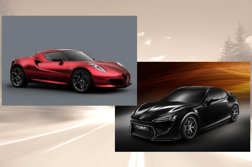 Sportwagen-Trend - Klein, leicht und mit vier Töpfen