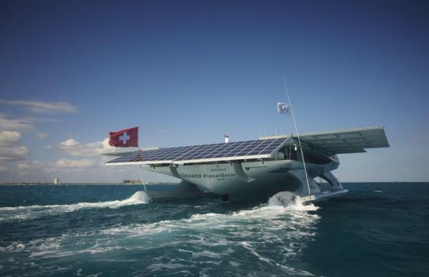 TÛRANOR PlanetSolar: Solare Weltumrundung geht weiter