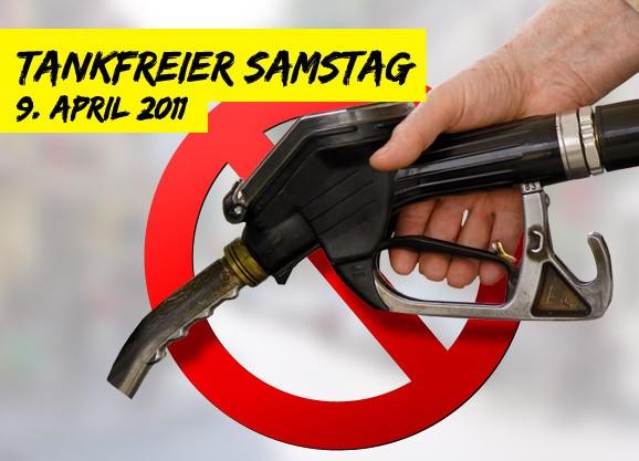 Tankfreier Samstag – Gegen Verteuerung von Lebensmitteln