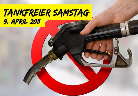 Tankfreier Samstag – Gegen teurere Lebensmittel