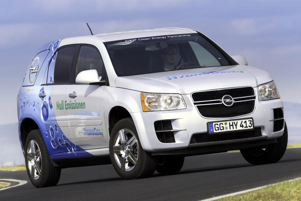 Testfahrt in die Zukunft: Opel setzt auf Wasserstoff