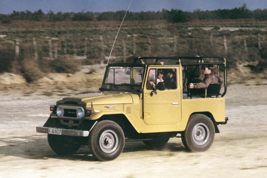 Toyota Land Cruiser 1977