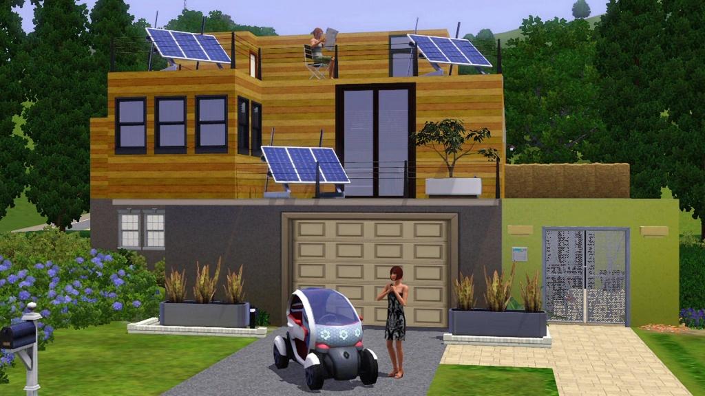Twizy Z.E. Concept, Sims