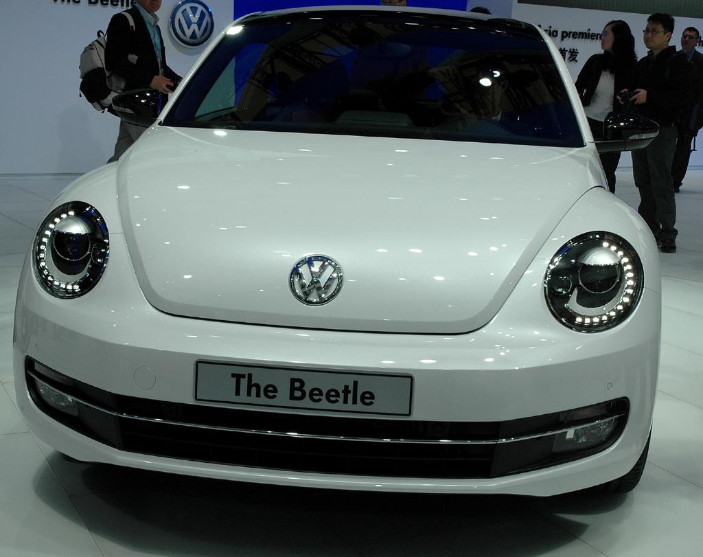 VW Beetle: Blick auf die Frontpartie.