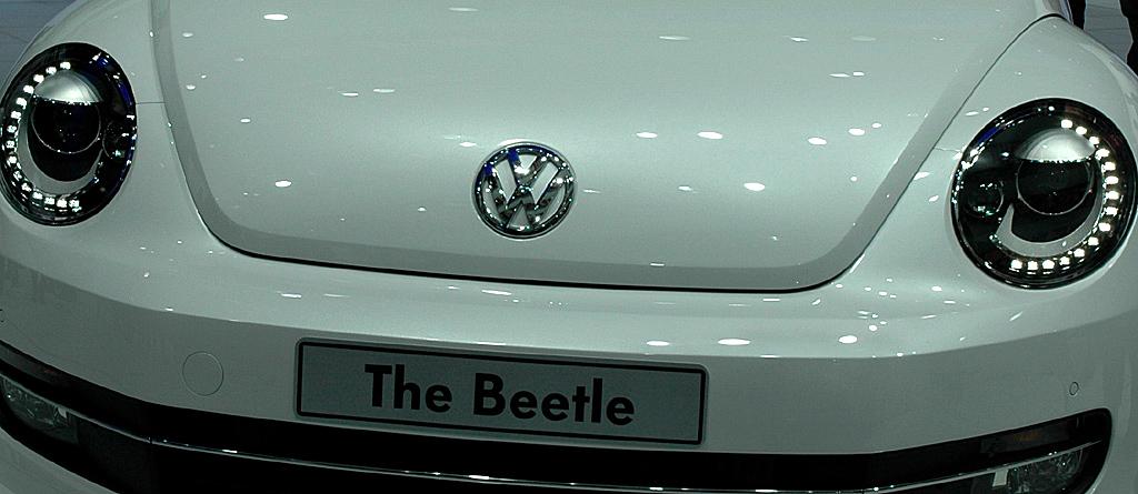 VW Beetle: Rundleuchten zeichnen die Front aus.
