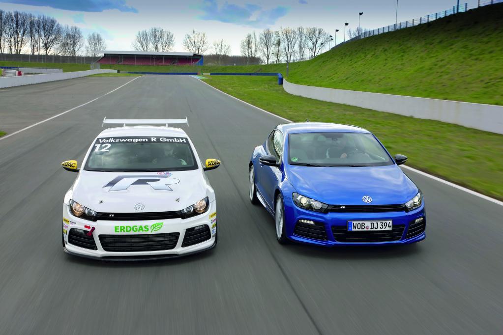 Volkswagen Cup-Scirocco und Scirocco R.