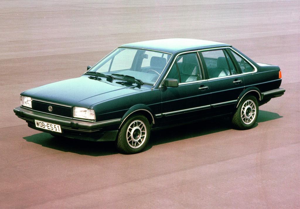 Volkswagen Santana (1981).