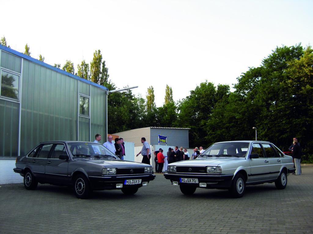 Volkswagen Santana (1981 - 1983).