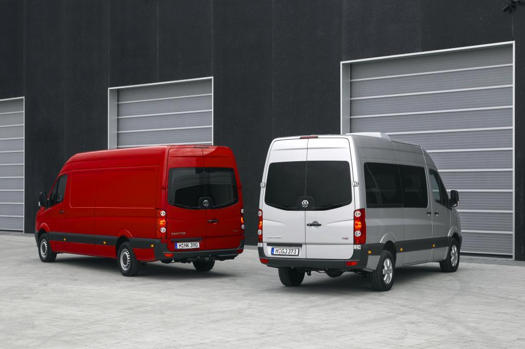 Vorverkauf des neuen Volkswagen Crafter hat begonnen