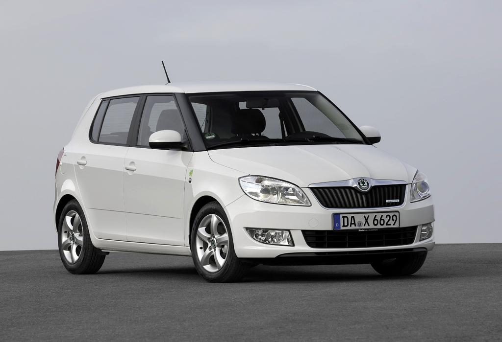 Škoda Greenline, hier das Einstiegsmodell Fabia.