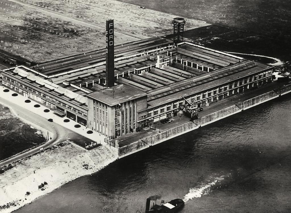80 Jahre Ford in Köln: Werk Niehl 1931.