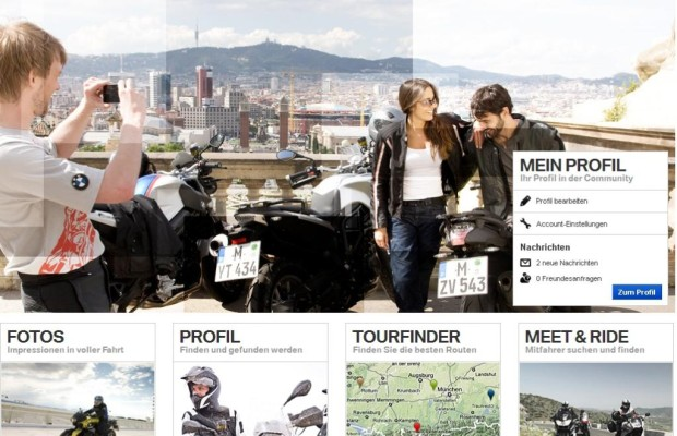 BMW ruft Motorrad Community ins Leben