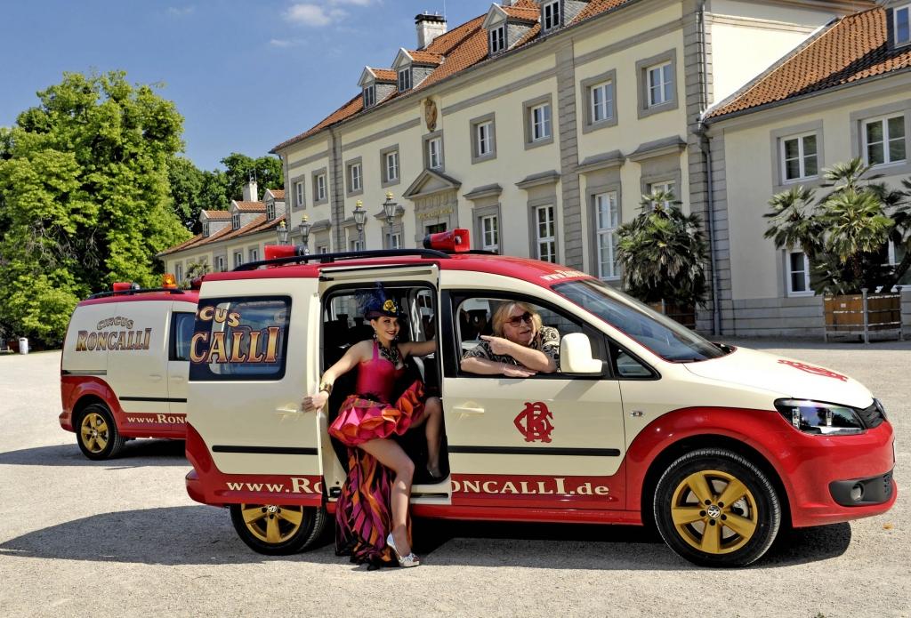 Bis 2012 ist der Caddy Roncalli bei VW erhältlich