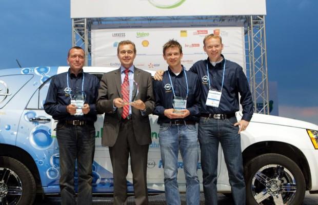Challenge Bibendum 2011: Opel dreimal auf dem Podium