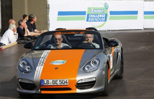 Challenge Bibendum 2011: Porsche bot Fahrten im Boxster E an
