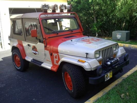 Der Jeep Wrangler Sahara Quelle: eBay