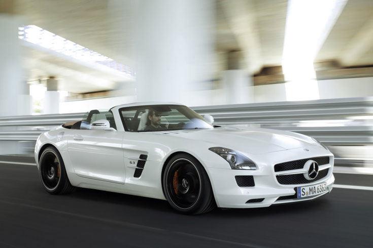 Der SLS AMG Roadster Quelle: Mercedes