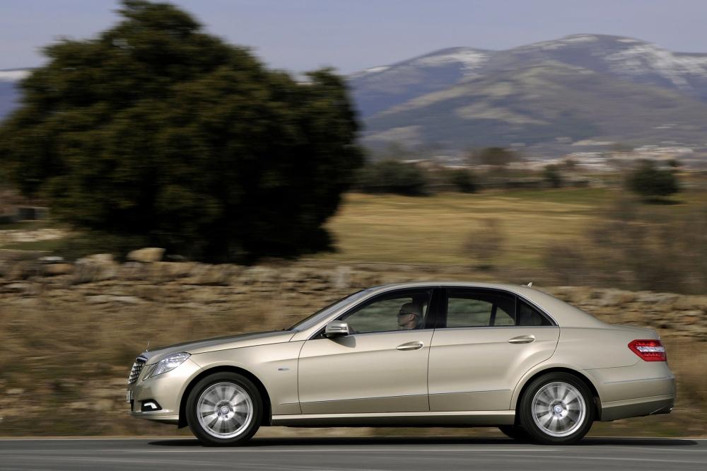 Die Mercedes E-Klasse hat einen der stärksten Sechszylinder-Diesel im Angebot