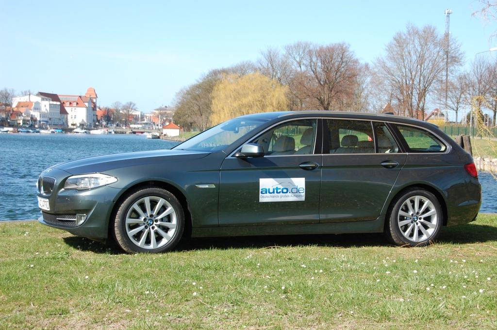 Fahrbericht BMW 528i Touring: Der Oberklasse-Kombi