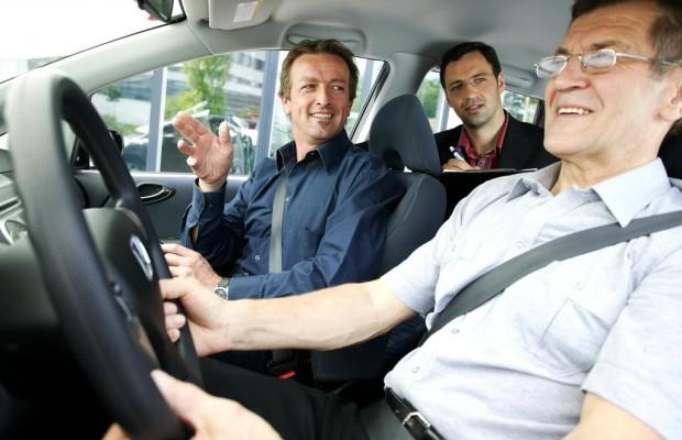 Fahrtauglichkeit im Alter - Kein erhöhtes Unfallrisiko
