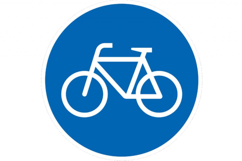 Falschparker auf dem Radweg dürfen abgeschleppt werden