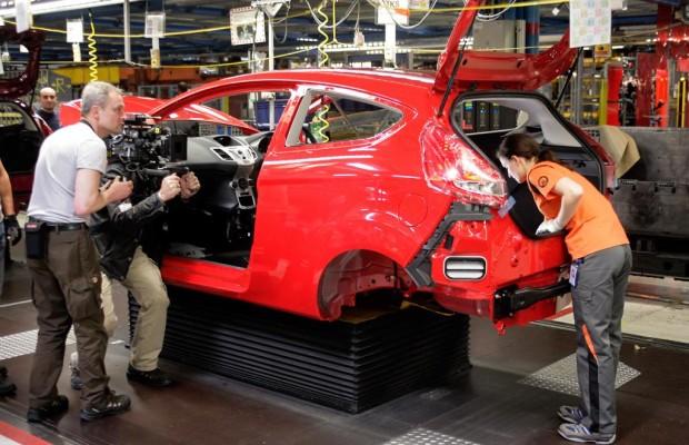 Ford-Werk mit Filmauftritt