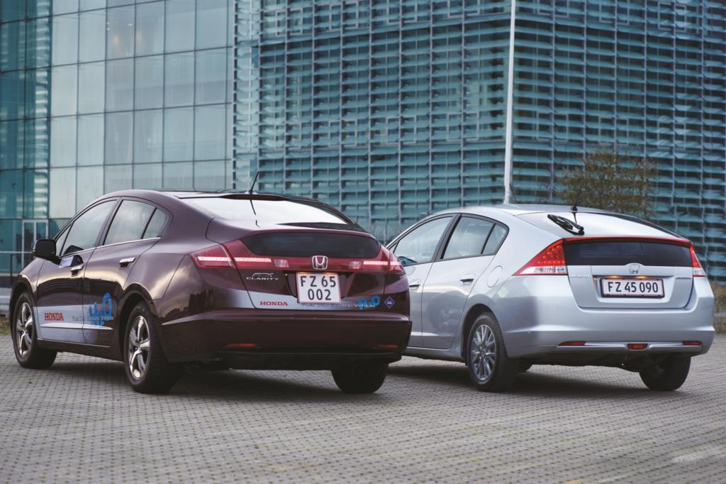 Honda FCX Clarity und Honda Insight, 2009