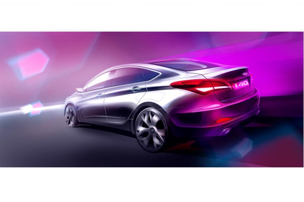 Hyundai i40 Limousine - Mit einem großen Schuss Europa