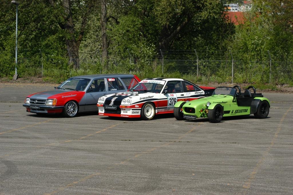 Irmscher Motorsportkalender: ADAC 24h-Classics und Driftchallange 2011