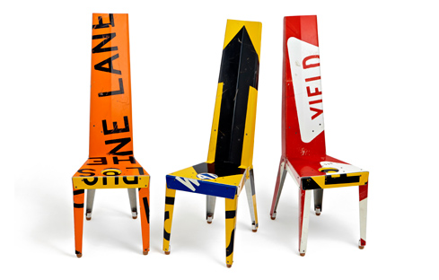 Jeder Stuhl ein Unikat, Foto: Outdoorzgallery