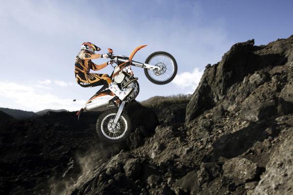 KTM poliert seine Enduros auf