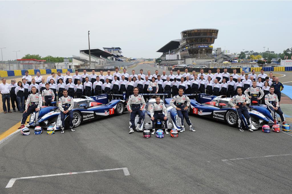 Letzter Test des Peugeot 908 vor Le Mans