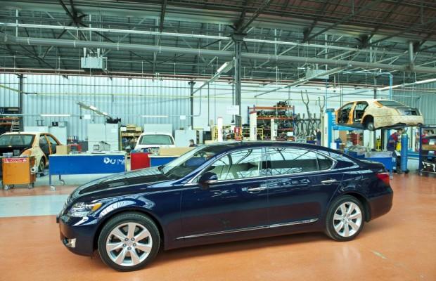 Lexus liefert Hochzeitslimousine für Fürst Albert II.