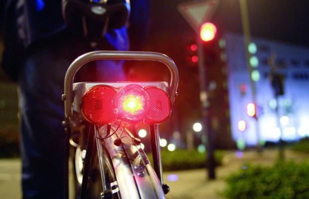 Licht am Fahrrad für die Sicherheit