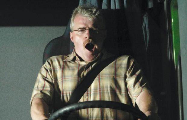 Lkw-Fahrer sind häufig gesundheitlich belastet