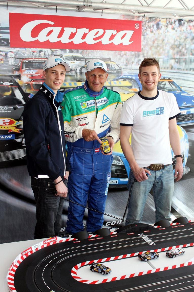 Markenbotschafter: ''Striezel'' Stuck für Carrera am Start