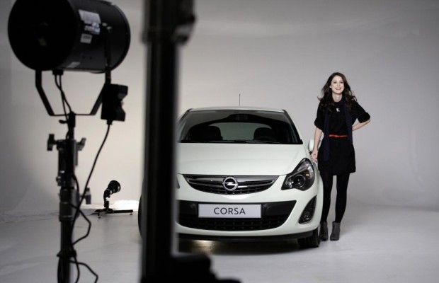 Markenbotschafterin Lena bringt den Opel Corsa in Schwung