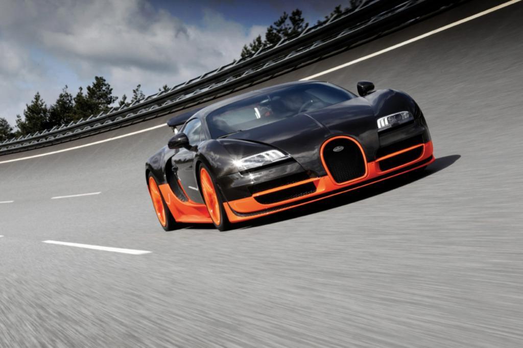 Mehr Drehmoment geht nicht: Der Bugatti Veron bringt es auf bis zu 1.500 Nm