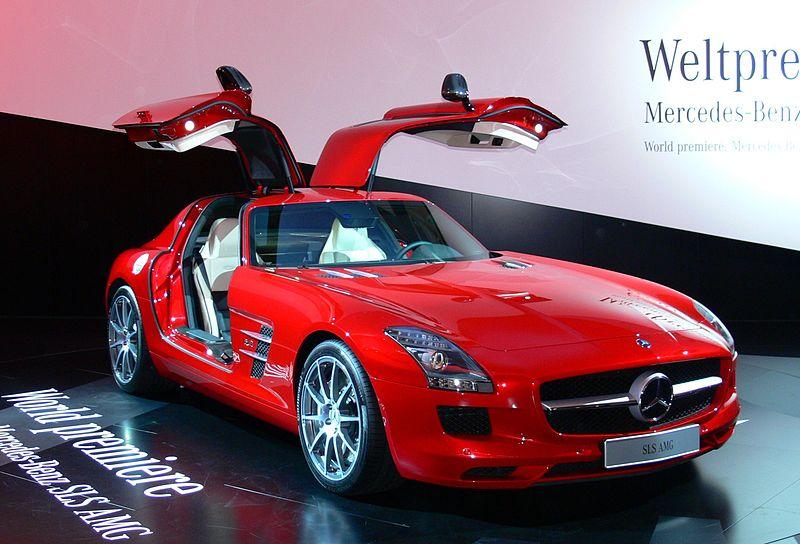Mercedes SLS Quelle: Wikipedia