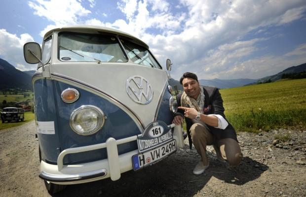 Mousse T. nimmt mit Samba-Bus an Kitzbüheler Alpenrallye teil