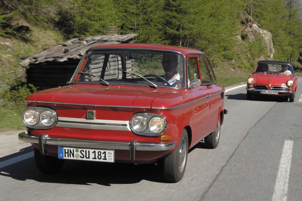 NSU 1200 TT und Wankel Spider, 1967