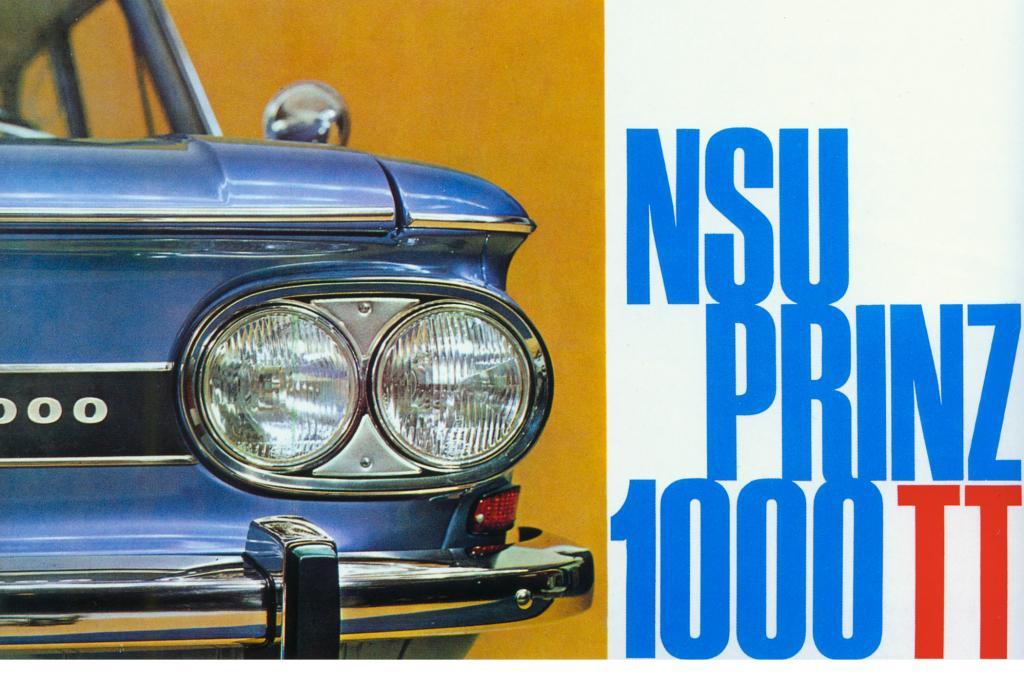 NSU Prinz 1000TT, 1966