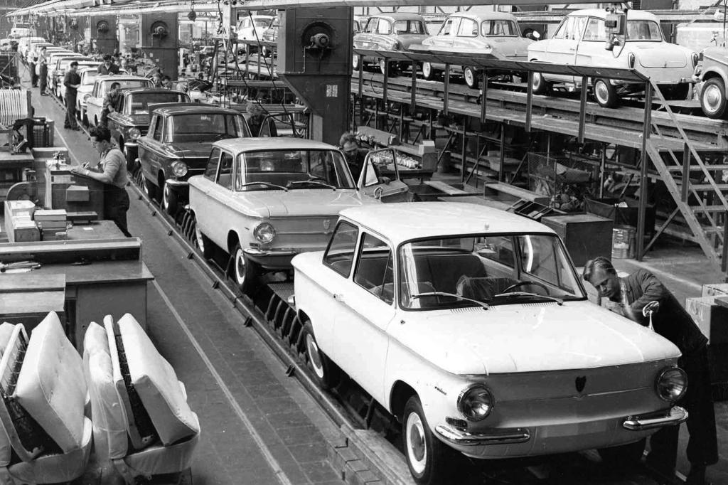 NSU Prinz 4 und Prinz III Produktion, 1961