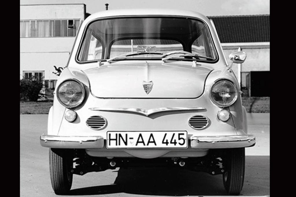 NSU Prinz III, 1960