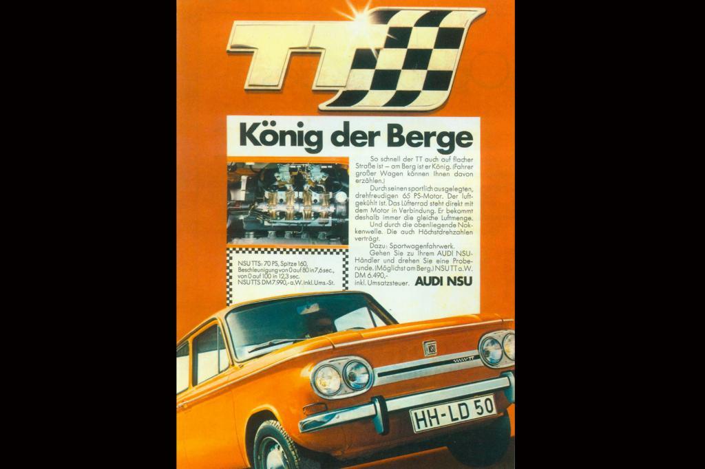 NSU TT, 1970