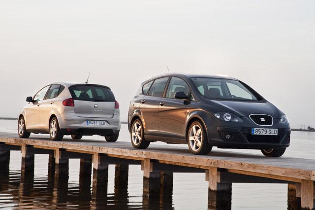 Neues für SEAT Altea und Altea XL im Modelljahr 2012
